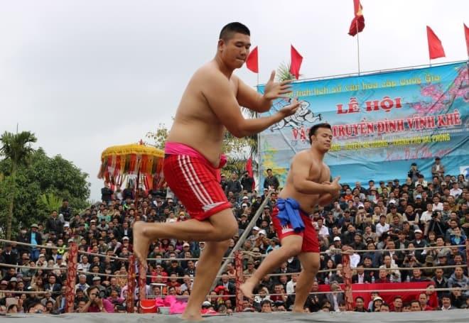 lễ hội đấu vật