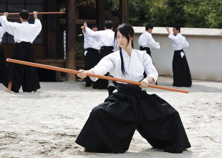 Aikido lại là môn võ phù hợp với phái đẹp