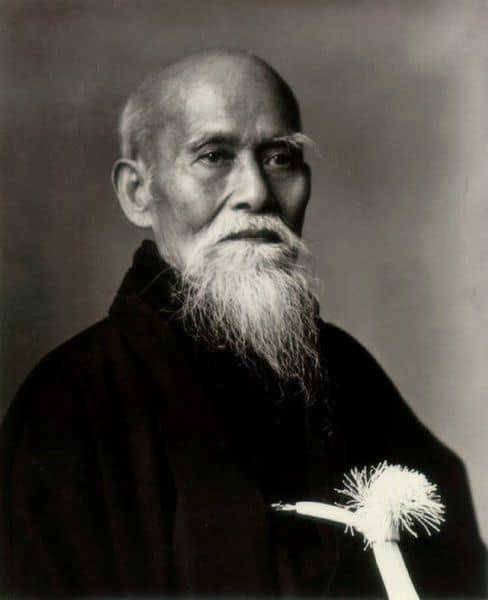 vo thuat aikido Morihei Ueshiba