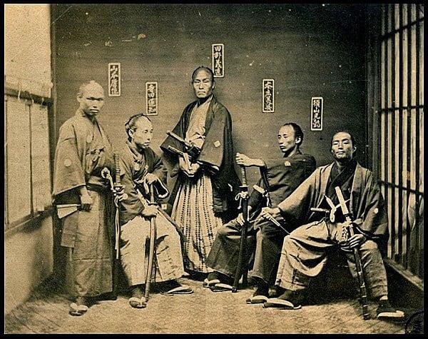 vo thuat  - samurai va ninja