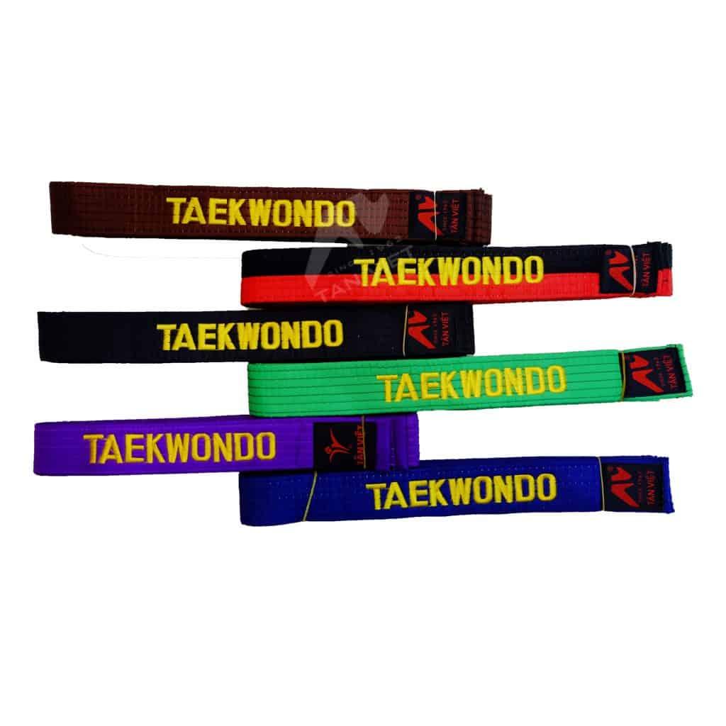 Taekwondo đai