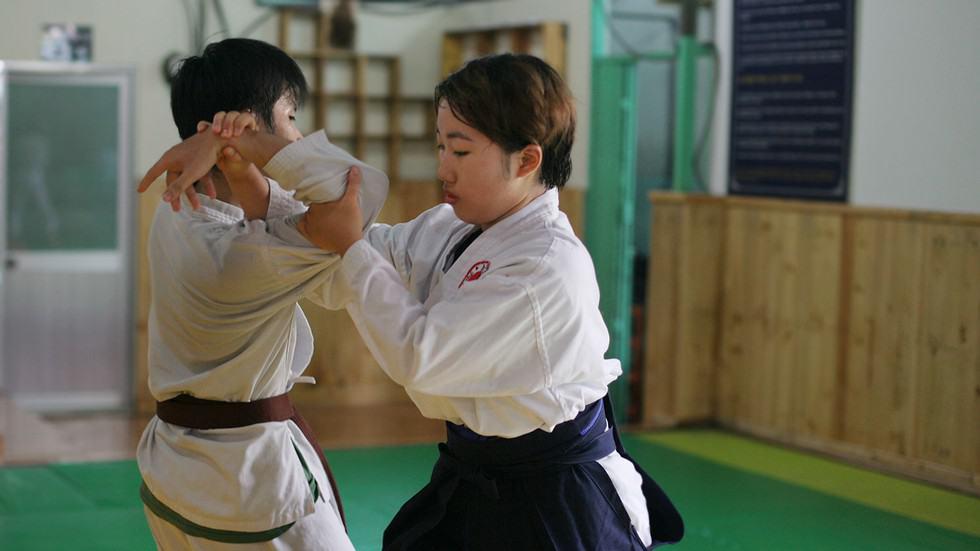 Thể hình của nữ giới phù hợp với Aikido